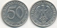 50 Reichspfennig 1938 Mz.B Deutsches Reich,Drittes Reich, J.365 Nickel ... 59,99 EUR  Excl. 7,00 EUR Verzending