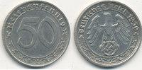 50 Reichspfennig 1939 Mz.A Deutsches Reich,Drittes Reich, J.365 Nickel ... 39,99 EUR  Excl. 7,00 EUR Verzending