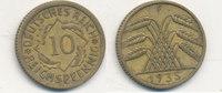 10 Reichspfennig 1935 Mz.F Deutsches Reich,Drittes Reich, J.317 Messing... 1,99 EUR  zzgl. 1,80 EUR Versand