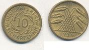 10 Reichspfennig 1935 Mz.G Deutsches Reich,Drittes Reich, J.317 Messing... 7,99 EUR  zzgl. 1,80 EUR Versand