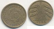 10 Reichspfennig 1935 Mz.J Deutsches Reich,Drittes Reich, J.317 Messing... 1,99 EUR  plus 4,00 EUR verzending