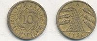 10 Reichspfennig 1936 Mz.A Deutsches Reich,Drittes Reich, J.317 Messing... 0,99 EUR  zzgl. 1,80 EUR Versand