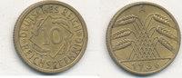10 Reichspfennig 1936 Mz.A Deutsches Reich,Drittes Reich, J.317 Messing... 1,99 EUR  zzgl. 1,80 EUR Versand