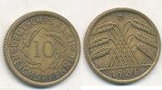 10 Reichspfennig 1936 Mz.D Deutsches Reich,Drittes Reich, J.317 Messing... 1,99 EUR  plus 4,00 EUR verzending