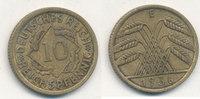 10 Reichspfennig 1936 Mz.E Deutsches Reich,Drittes Reich, J.317 Messing... 2,99 EUR  plus 4,00 EUR verzending