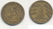 10 Reichspfennig 1936 Mz.F Deutsches Reich,Drittes Reich, J.317 Messing... 1,99 EUR  zzgl. 1,80 EUR Versand