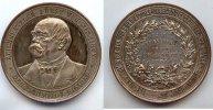 1894 Deutsches Reich, Bismarck, Bronzemedaille versilbert, ss-vz,  49,99 EUR  Excl. 7,00 EUR Verzending