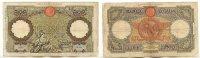 100 Lire 19.Oktober 1939 Italien  gebraucht III-, Nadellöcher  39,99 EUR  zzgl. 4,00 EUR Versand