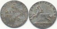 3 Marien Groschen 1820 L.B. Altdeutschland Hannover ss+  49,99 EUR  Excl. 7,00 EUR Verzending