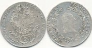 &Ouml;sterreich 20 Kreuzer 1795 G vz-st Franz II. 34,99 EUR 
