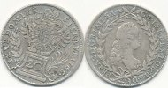 &Ouml;sterreich 20 Kreuzer 1765 WI ss-vz Franz I. 49,99 EUR 