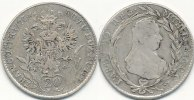 &Ouml;sterreich 20 Kreuzer 1773 H.G. s-ss Maria Theresia 39,99 EUR 