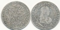 &Ouml;sterreich 20 Kreuzer 1768 EvS A.S. ss+ Maria Theresia 34,99 EUR 
