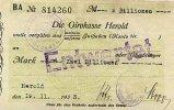 2 Bio.Mark 19.11 1923 Sachsen Herold gebraucht III  39,99 EUR  Excl. 7,00 EUR Verzending