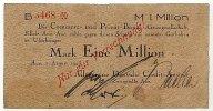 1 Mio.Mark 7.August 1923 Sachsen Aue stark gebraucht IV  39,99 EUR  Excl. 7,00 EUR Verzending