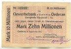 10 Mio.Mark 21.September 1923 Sachsen Oederan gebraucht III  49,99 EUR  zzgl. 4,00 EUR Versand