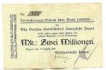 2 Mio. Mark 17.August 1923 Sachsen Pegau stark gebraucht IV  29,99 EUR  Excl. 4,00 EUR Verzending