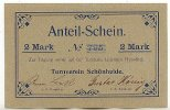 2 Mark o.D. Deutschland Sachsen, Turnverein Schönheide fast Kassenfrisc... 69,99 EUR