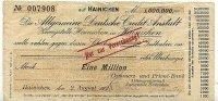 1 Mio.Mark 2.August 1923 Deutsches Reich Sachsen, Hainichen stark gebra... 29,99 EUR  Excl. 4,00 EUR Verzending