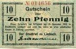 10 Pfennig bis 31.Dezember 1918 Sachsen Limbach gebraucht III+  29,99 EUR