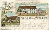 um 1910 Deutschland Arnsdorf, Kreis Liegnitz gelaufen  29,99 EUR  Excl. 4,00 EUR Verzending