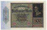 Deutschland 500 Mark 27.März Ro.70