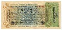 50 Mrd.Mark 10.Oktober 1923 Deutschland Ro.117b leicht gebraucht II  29,99 EUR  Excl. 4,00 EUR Verzending
