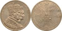 Krönungstaler 1861 Preussen Wilhelm I. und Augusta ss  29,00 EUR  zzgl. 6,90 EUR Versand
