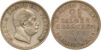 2 1/2 Silbergroschen 1868 Preussen Wilhelm I. vz-st  39,00 EUR  zzgl. 6,90 EUR Versand