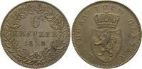 6 Kreuzer 1840 Hessen-Homburg Philipp 1839-1846. Vorzüglich  975,00 EUR kostenloser Versand