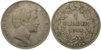 Bayern Gulden Ludwig I. 1825-1848.