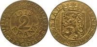 2 Franken 1918 Stadt Gent  Sehr selten. Vorzüglich +  475,00 EUR kostenloser Versand