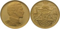 Bayern Goldmedaille  Gold Ludwig II. 1864-1886.