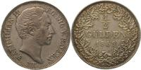 Bayern 1/2 Gulden Maximilian II. Joseph 1848-1864.