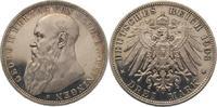 3 Mark 1908  D Sachsen-Meiningen Georg II. 1866-1914. Polierte Platte. ... 475,00 EUR kostenloser Versand