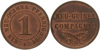 Neuguinea 1 Pfennig 1894 A Fast Stempelglanz 