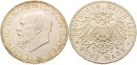Bayern 5 Mark 1914 D Vorzglich - Stempelg...