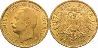 Baden 20 Mark  Gold Friedrich II. 1907-1918.