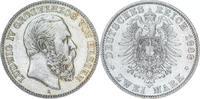 2 Mark 1888  A Hessen Ludwig IV. 1877-1892...