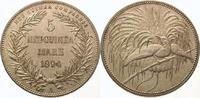 5 Mark 1894  A Neuguinea  Vorzüglich - Stempelglanz  2950,00 EUR kostenloser Versand