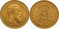 10 Mark Gold 1888  A Preußen Friedrich III. 1888. Fast Stempelglanz  300,00 EUR kostenloser Versand