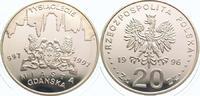 20 Zloty 1996 Polen Republik Polen. Polierte Platte  65,00 EUR