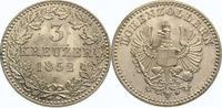 3 Kreuzer 1852  A Brandenburg-Preußen Frie...