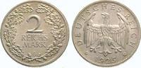 2 Mark 1925  G Weimarer Republik  Fast Ste...