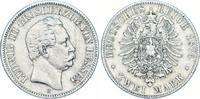 2 Mark 1876  H Hessen Ludwig III. 1848-1877. Sehr schön  475,00 EUR kostenloser Versand