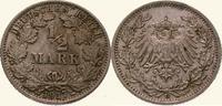 1/2 Mark 1917  G Kleinmünzen  Vorzüglich  15,00 EUR
