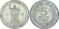 5 Mark 1925  J Weimarer Republik  Selten. Vorzüglich - Stempelglanz  475,00 EUR kostenloser Versand