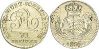 6 Kreuzer 1806 Württemberg Friedrich I. 1806-1816. Vorzüglich  125,00 EUR  zzgl. 4,00 EUR Versand