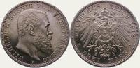 3 Mark 1912  F Württemberg Wilhelm II. 1891-1918. Polierte Platte. Vorz... 175,00 EUR  zzgl. 4,00 EUR Versand