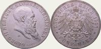 5 Mark 1901 Sachsen-Meiningen Georg II. 1866-1914. Vorzüglich - Stempel... 750,00 EUR kostenloser Versand